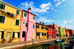 Burano, Italie Images stock