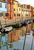 Burano italy Royalty Free Stock Photos