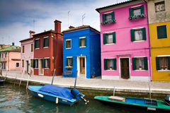 Burano, Italy Royalty Free Stock Photos