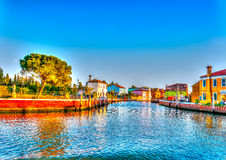 In Burano in Italy Royalty Free Stock Images