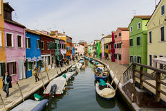 Burano, Italy Royalty Free Stock Photo