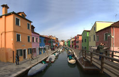 Burano, Italy Stock Photography