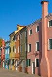 burano koloru wąż elastyczny wyspa Italy Venice Obrazy Royalty Free