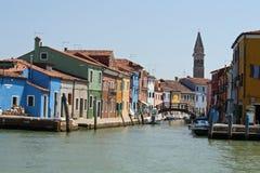 Burano, la ciudad de mil casas coloreadas 6 Fotos de archivo