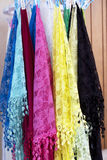 Burano lace scarf Royalty Free Stock Photo