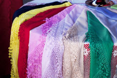 Burano lace scarf Stock Images