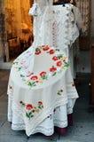 Burano lace store, Venice, Italy Royalty Free Stock Photo