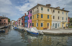 In Burano Stock Image