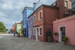 In Burano Royalty Free Stock Photography