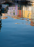 Burano reflections Stock Images