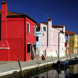 Burano Series. Burano is an Island in the Venetian Lagoon that is wonderfully colourful, and packs in plenty of character Royalty Free Stock Image