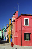 Burano Series. Burano is an Island in the Venetian Lagoon that is wonderfully colourful, and packs in plenty of character royalty free stock images