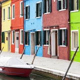 Burano square Stock Images