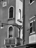 Burano street lamp Stock Photography