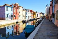 Burano, Venecia Foto de archivo