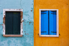Burano, Venecia Imágenes de archivo libres de regalías