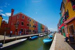 Burano, Venecia, Italia Imagen de archivo