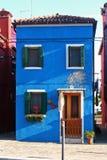 Burano Venedig Italien Lizenzfreies Stockfoto