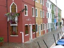 Burano Venedig Italien Lizenzfreie Stockfotos