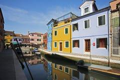 Burano Venetië Italië Royalty-vrije Stock Fotografie