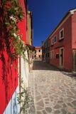 Burano, Venetië, Italië Royalty-vrije Stock Afbeeldingen