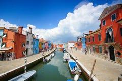Burano, Venetië, Italië stock fotografie