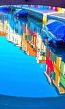 Burano, Veneza, Italy foto de stock royalty free
