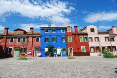 Burano, Venezia fotos de stock
