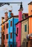 Burano, Venezia Fotografie Stock