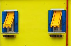 Burano, Venezia Immagini Stock