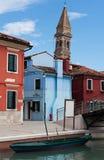 Burano, Venezia fotografia stock
