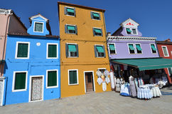 Burano, Venice Fotografia Royalty Free