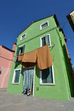 Burano, Venice Zdjęcia Royalty Free