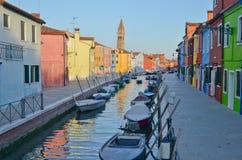Burano, Venice Obraz Stock