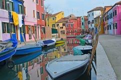 Burano, Venice Stock Images