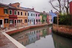 Burano, venice Royalty Free Stock Photography