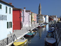 Burano - Venice - Italy Stock Photography