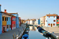 Burano, Venice, Italy Royalty Free Stock Photography
