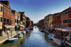 Burano of Venice, Italy Royalty Free Stock Images