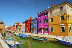Burano, Venice, Italy. Stock Photo