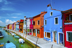 Burano, Venice, Italy. Royalty Free Stock Photo