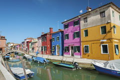 Burano, Venice, Italy. Royalty Free Stock Images