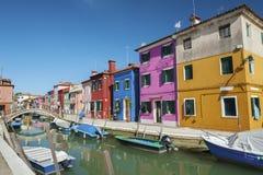 Burano, Venice, Italy. Royalty Free Stock Images