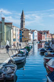 Burano Venice Veneto Italy Europe Zdjęcie Stock