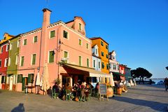 Burano, Venise, Italie images stock