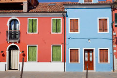 Burano view Stock Image