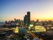 Miami downtown Royalty Free Stock Photo