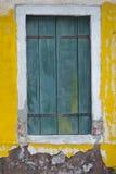 Burano Wenecja okno Obraz Royalty Free