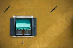Burano Wenecja okno Obraz Stock
