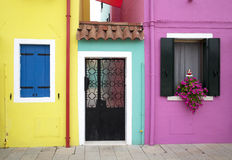 Burano window Royalty Free Stock Photos
